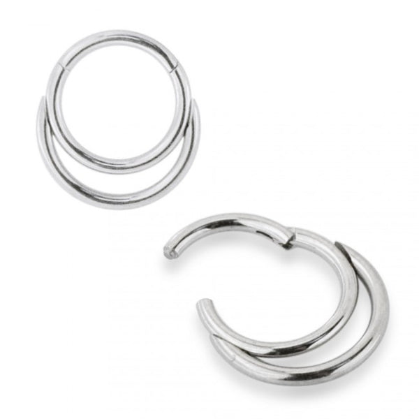 Septum Clicker - Double Hoop