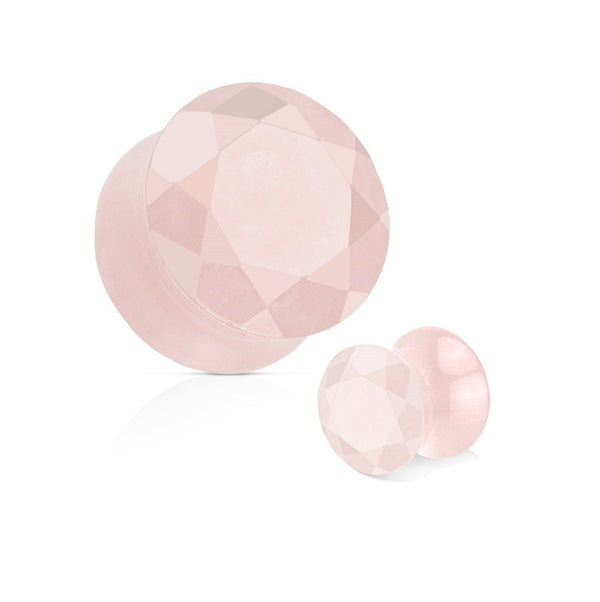 Organics - Faceted Stone - Rose Quartz