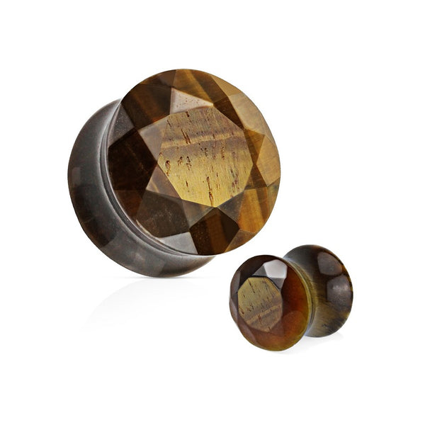 Organics - Faceted Stone - Tiger's Eye