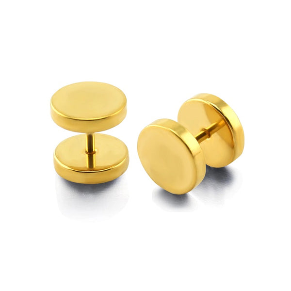 Faux Plugs - Gold Plated