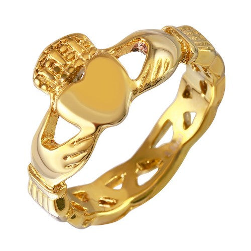 Rings - Gold Claddagh