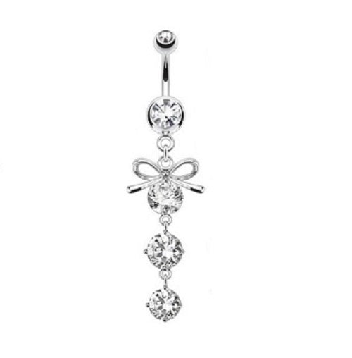Belly Ring - H Bow