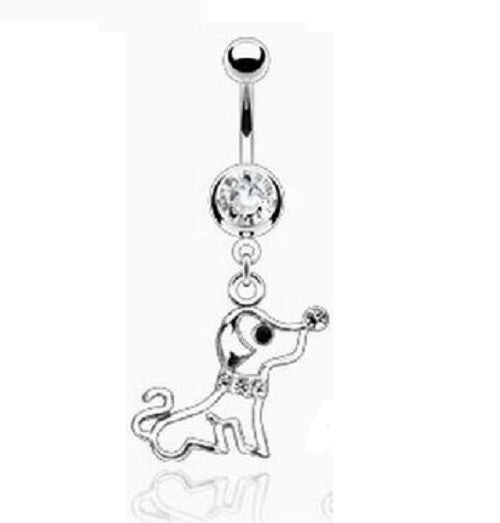 Belly Ring - H Puppy