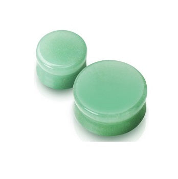 Organics - Natural Stone Plugs - Jade