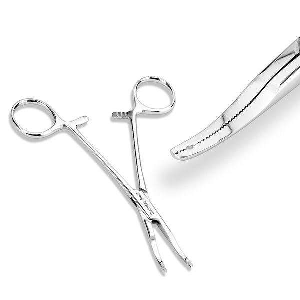 Tools - Kelly Hemostat For Dermal Anchors