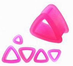 Tunnels / Plugs - Silicone Triangles