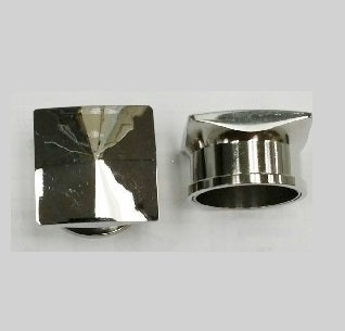 Tunnels / Plugs - Surgical Steel Pyramid Top