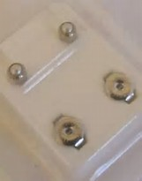 Earrings - Pre-Sterilized Piercing Studs - Plain