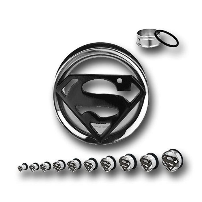 Tunnels / Plugs - Superman Tunnels