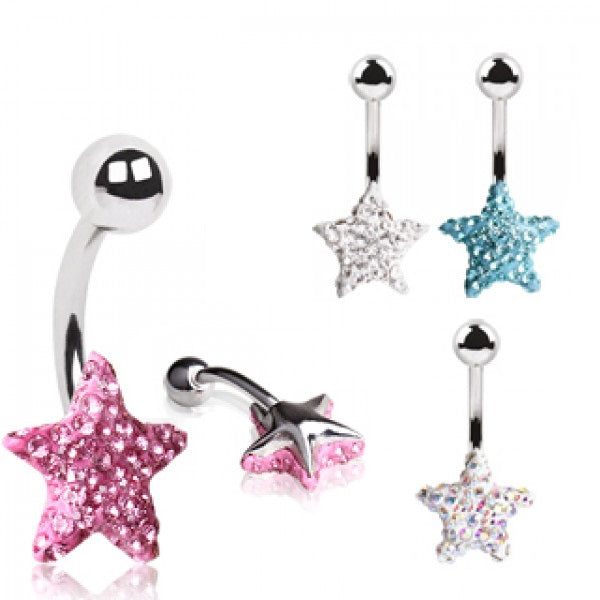 Belly Ring - Tiffany Star