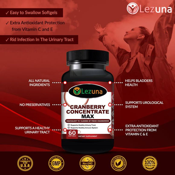best cranberry concentrate supplement