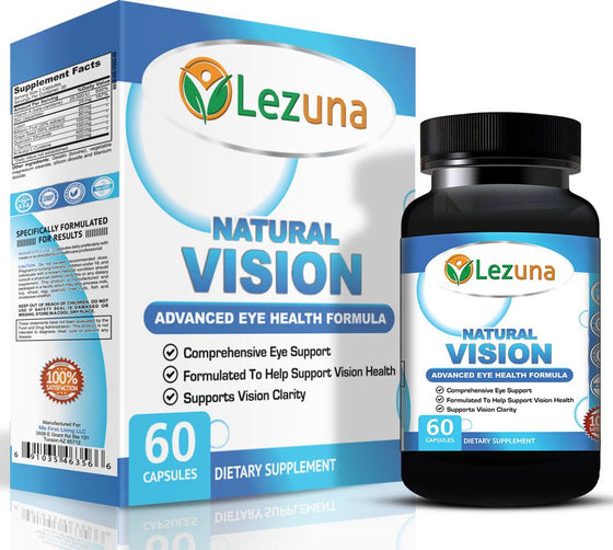 Natural Eye Health Lutein Supplement - 60 Capsules