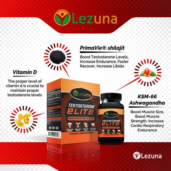 lezuna testosterone boost supplement