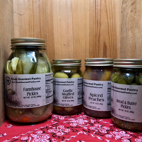 Pickles, Fruit, & Vegetables