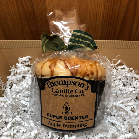Apple Dumpling Muffin Candle - 10oz.