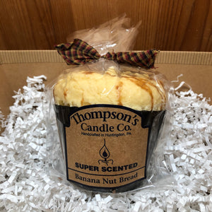 Banana Nut Bread Muffin Candle - 10oz.