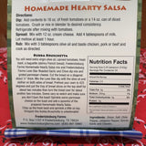 Homemade Hearty Salsa Mix