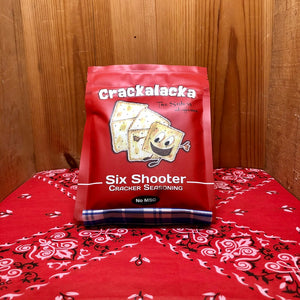 Crackalacka Six Shooter Cracker Seasoning