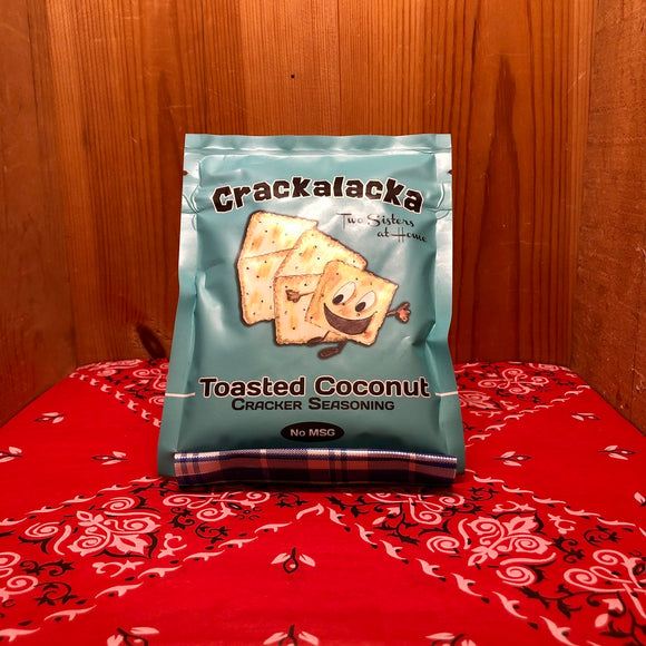 Crackalacka Toasted Coconut Cracker Seasoning
