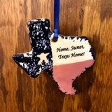 Home Sweet Texas Home Ornament