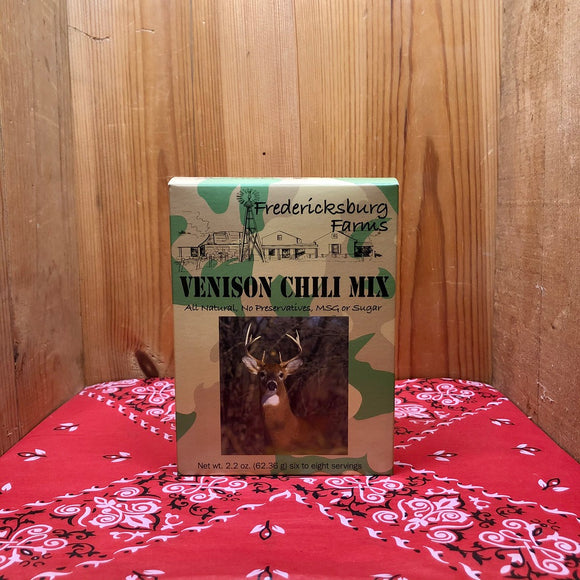 Venison Chili Mix (net wt. 2.2oz)