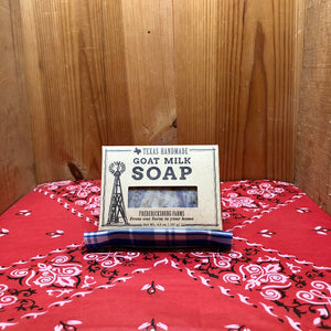 Hill Country Lavender Goat Milk Bar Soap (4.5oz)