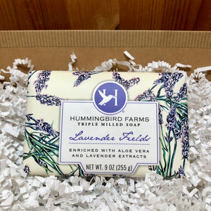 Lavender Fields Bar Soap (9oz)