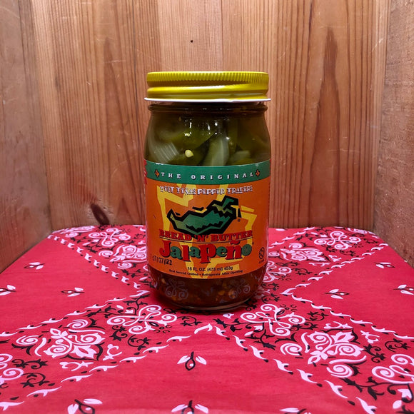 Bread 'N' Butter Jalapeno (16oz)