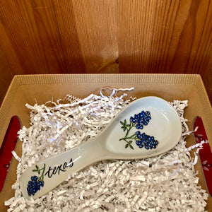 Texas Bluebonnets Spoon Rest