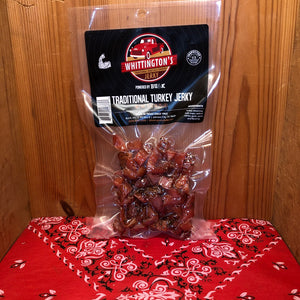 Traditional Turkey Jerky (4oz)