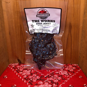 Mesquite Smoked The Works Beef Jerky (4oz)