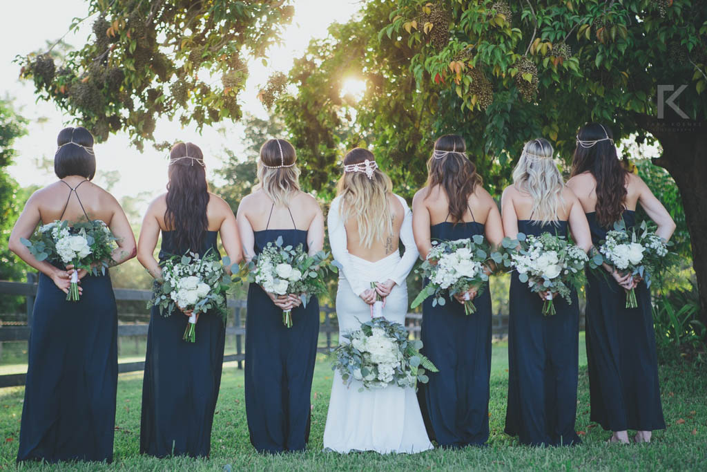 Wedding Bouquets | Bride & Bridesmaids | Tara Koenke Photography