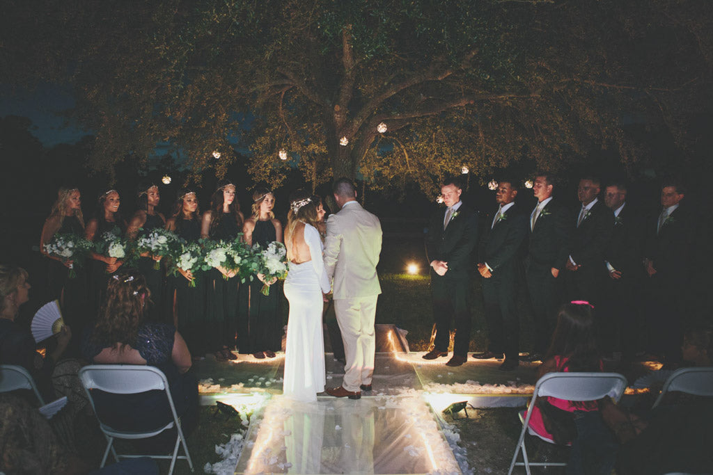 Tara Koenke Photography | Bride & Groom | Night
