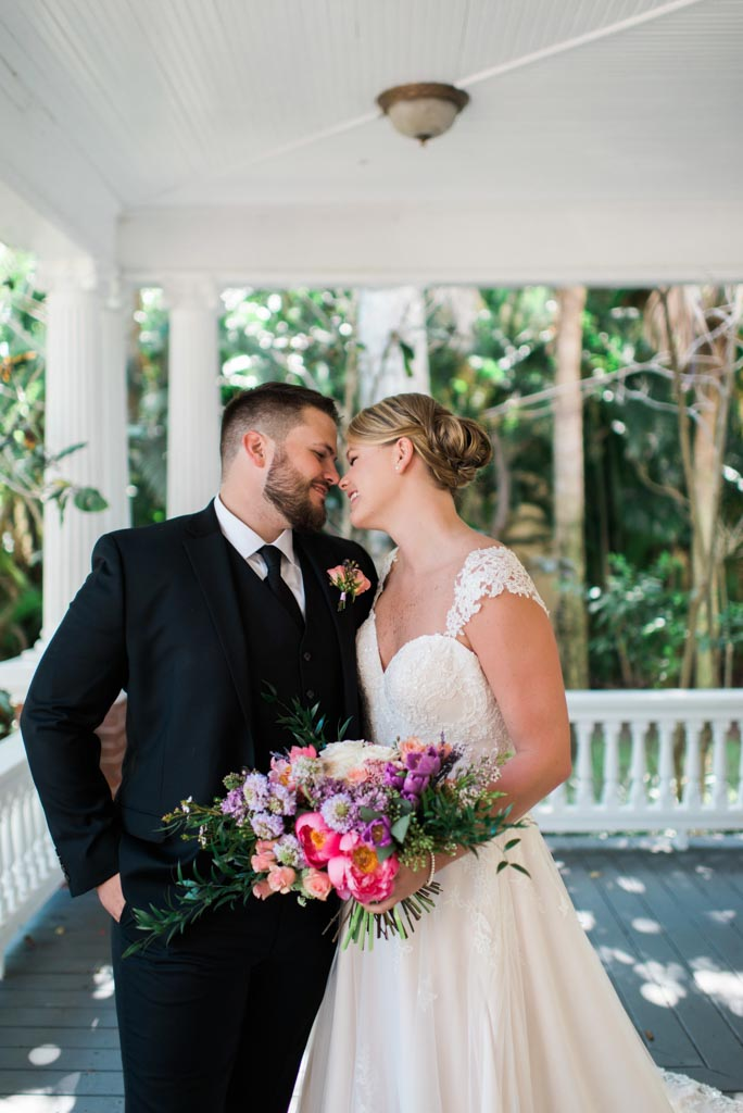 Wedding Flowers | Bride and Groom | Burroughs Home & Gardens