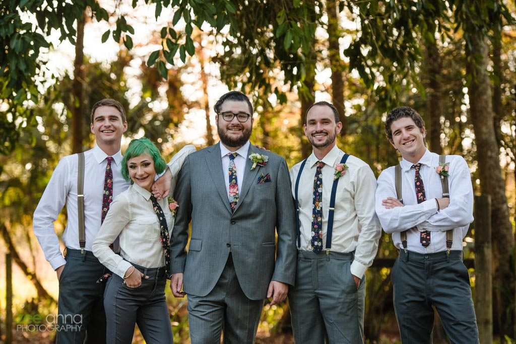 Wedding Flowers | Groom and Best Men