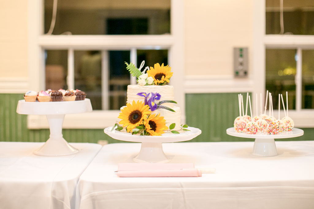 Wedding Flowers | Cake | Sunflowers