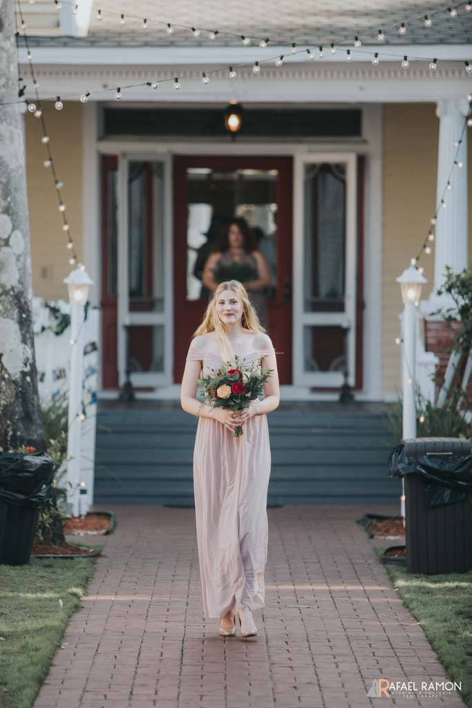 Wedding Flowers | Bridesmaid | The Heitman House