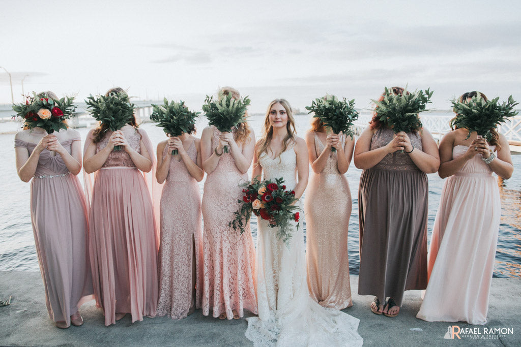 Wedding Flowers | Bride & Bridesmaids