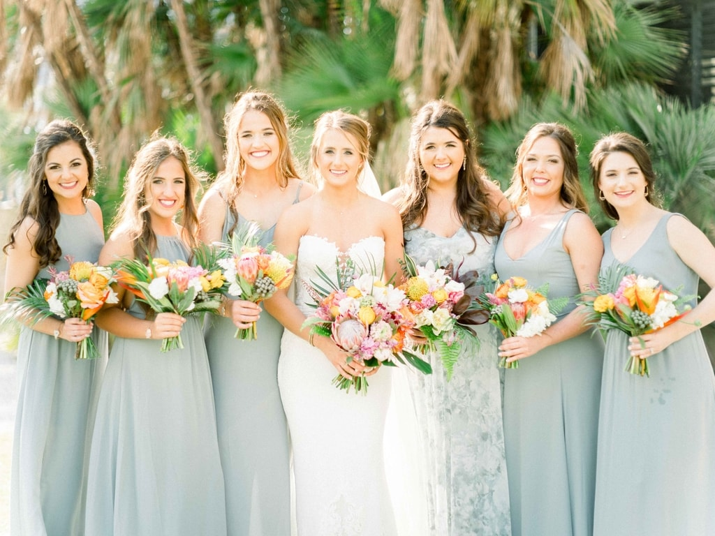 Wedding Flowers | Bridesmaid | Naples Beach Hotel & Golf Club