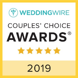 Weddingwire Couple's Choice Awards 2019 | Jardin Floral Design