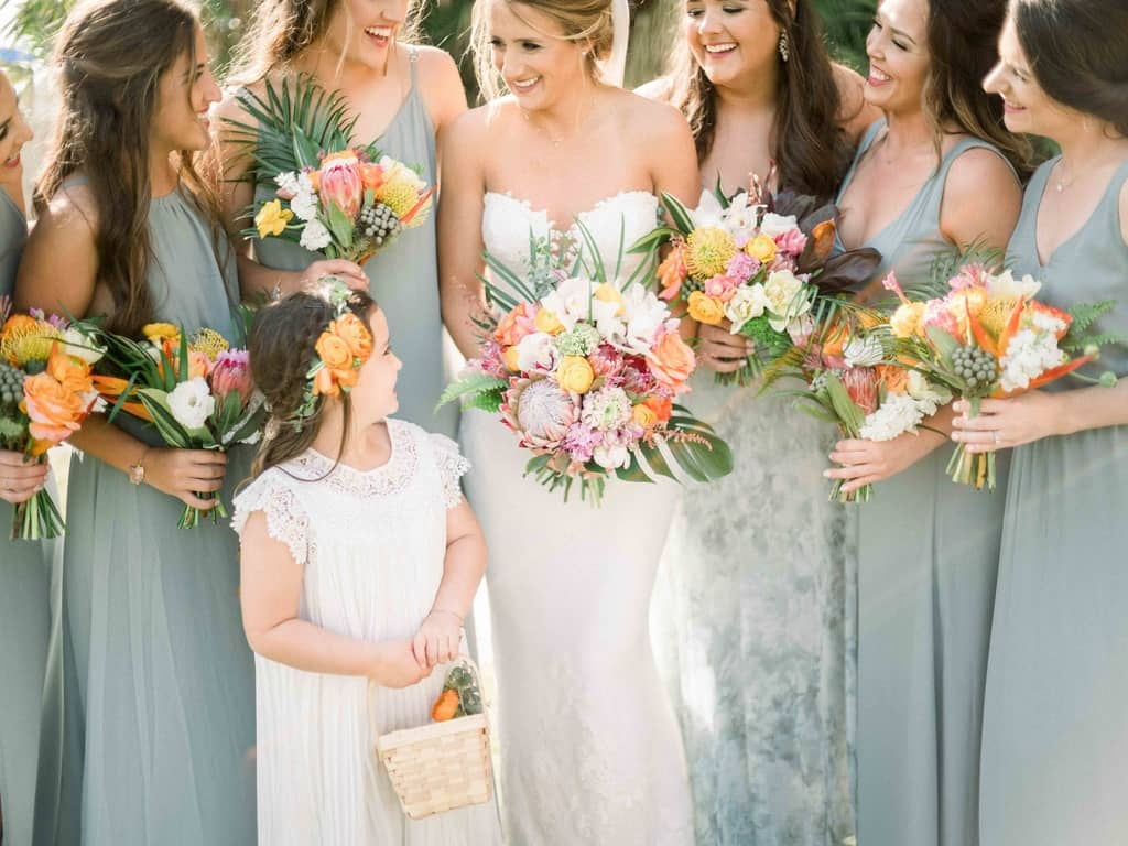 Wedding Flowers | Bride and Bridesmaid