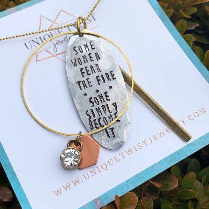 Necklace | Become The Fire