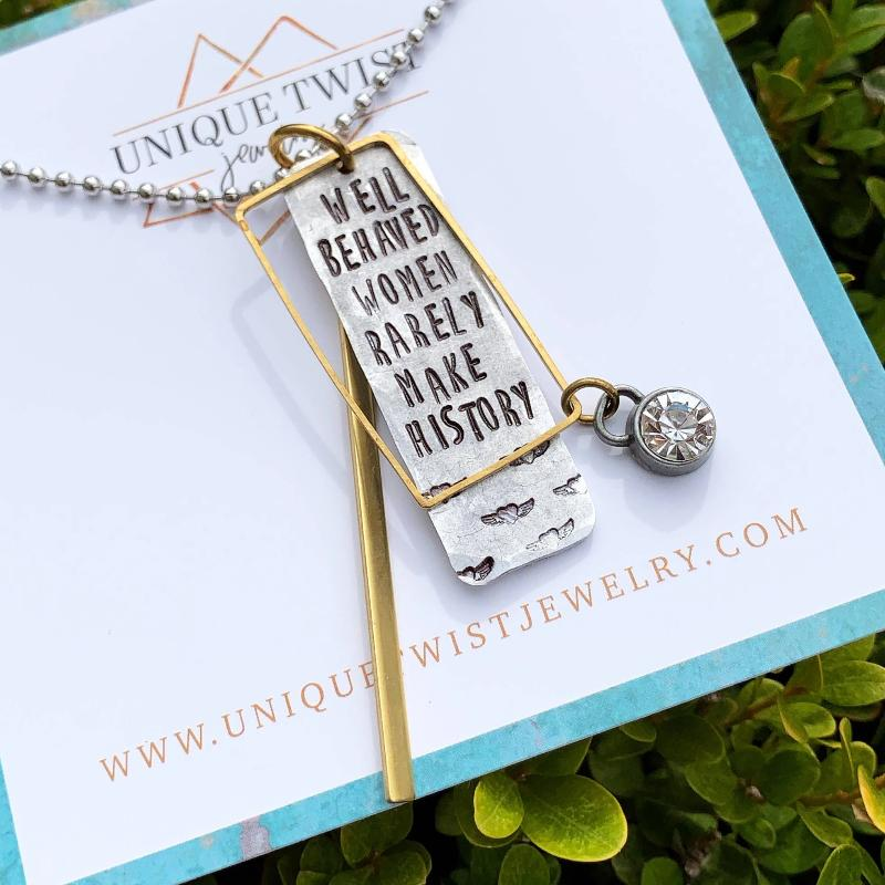 Necklace | Well Behaved Women