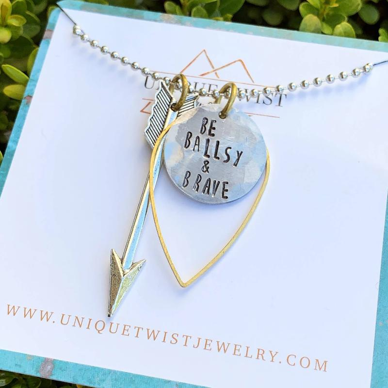 Necklace | Be Ballsy And Brave