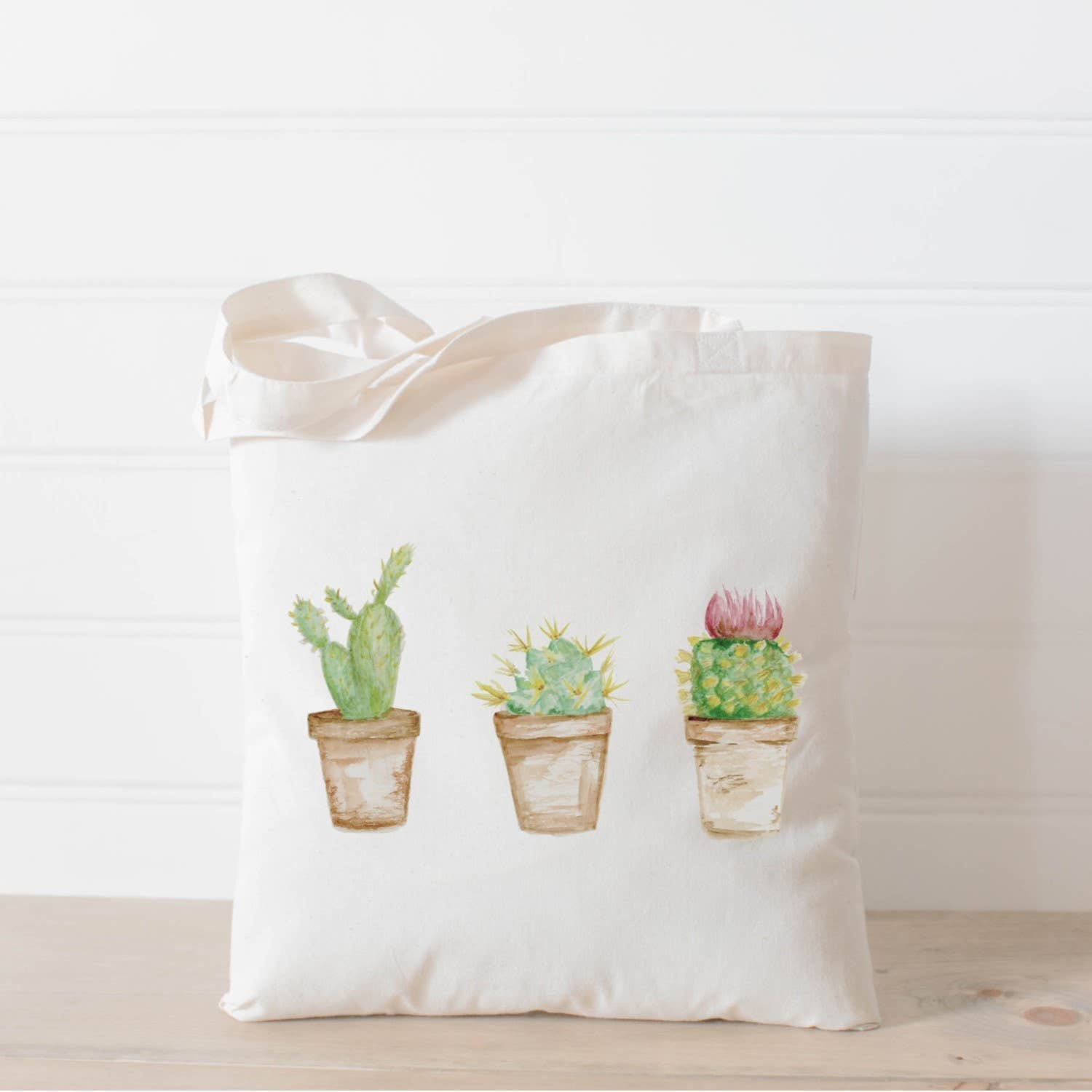 Tote Bag | Cactus Watercolor