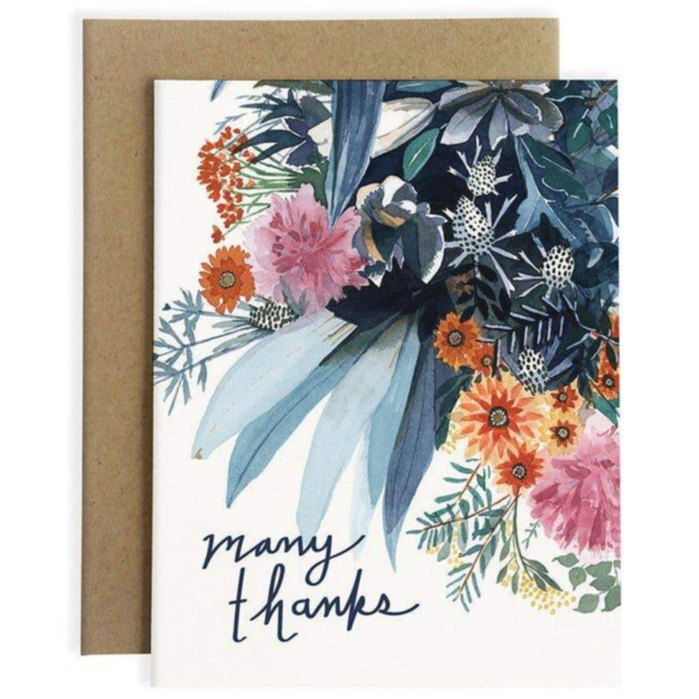 Many Thanks | Greeting Card
