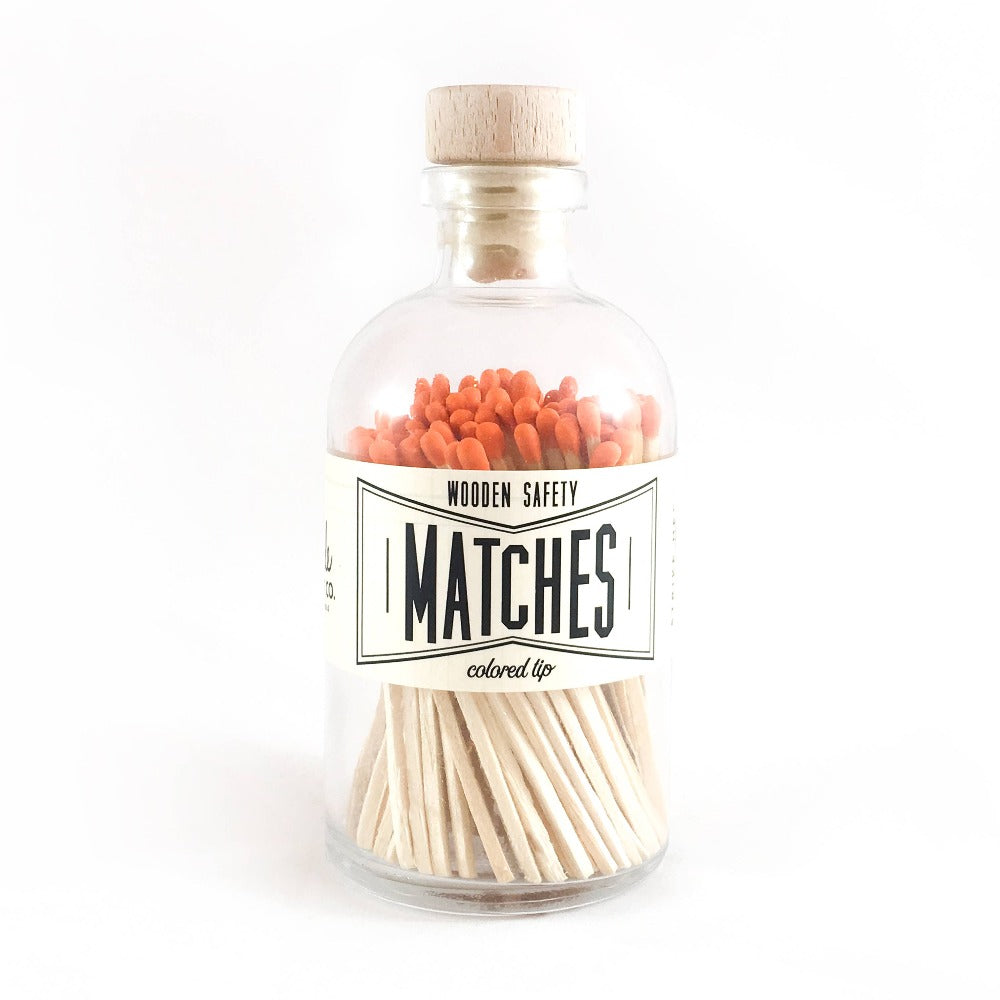 Orange Vintage Apothecary Matches