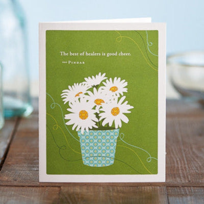 Jardin Flowers | Greeting Cards - Get Well