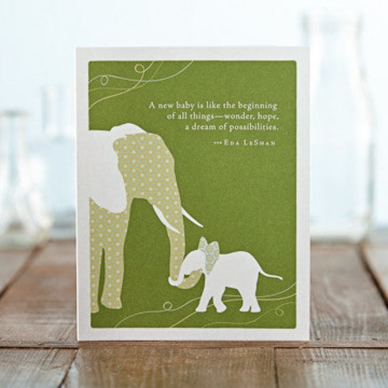 Jardin Floral Design | Greeting Cards - New Baby