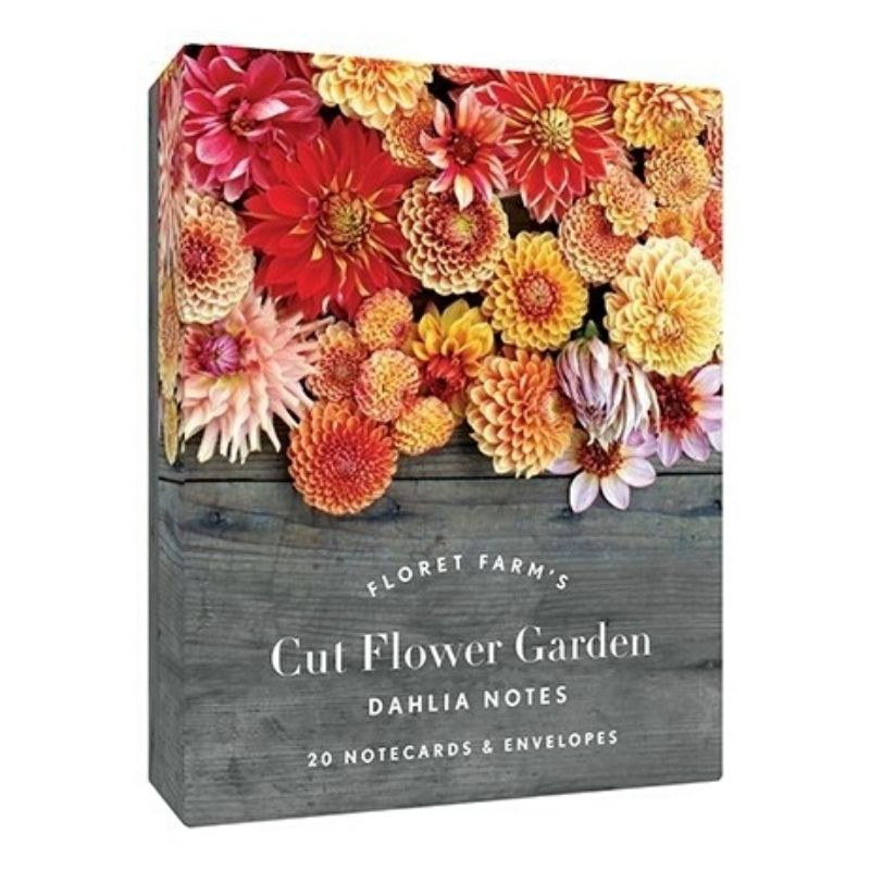 20 Note Cards | Floret Farm's Cut Flower Garden: Dahlia Notes